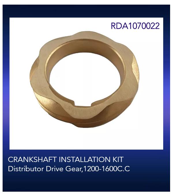 CRANKSHAFT INSTALLATION KIT Distributor Drive Gear,1200-1600C.C