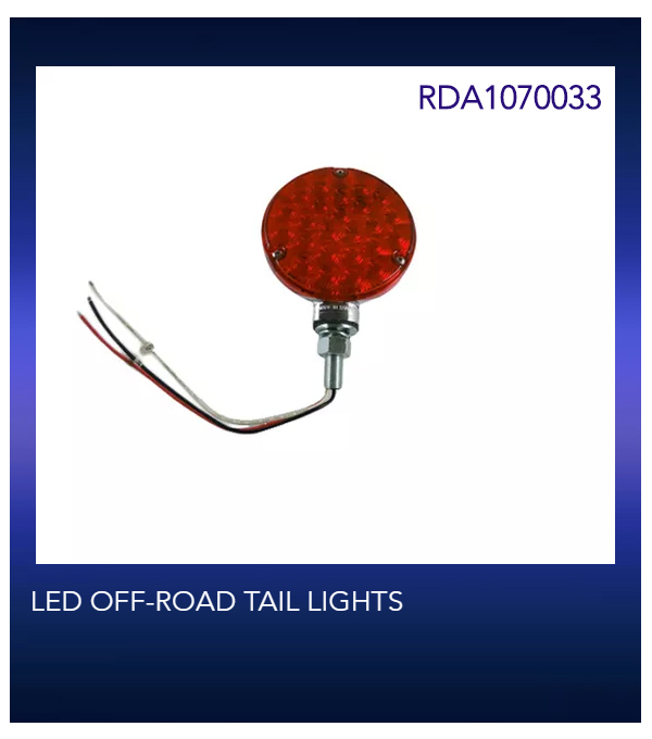 LED OFF-ROAD TAIL LIGHTS