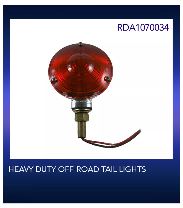 HEAVY DUTY OFF-ROAD TAIL LIGHTS