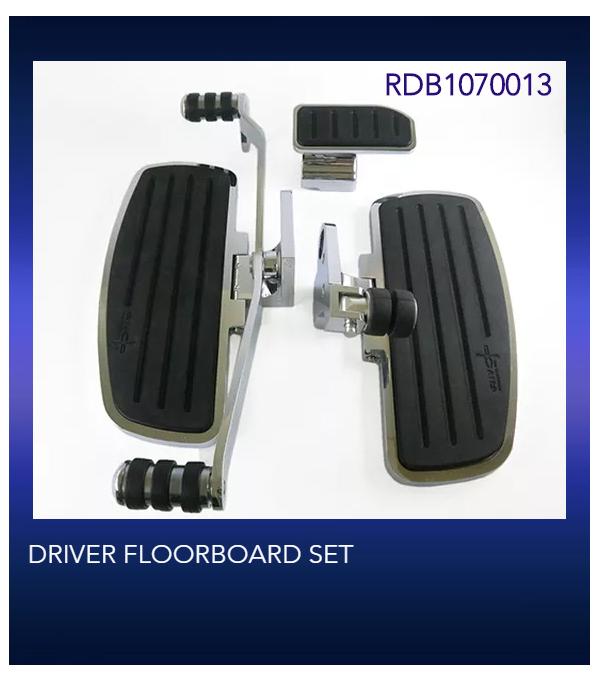 DRIVER FLOORBOARD SET