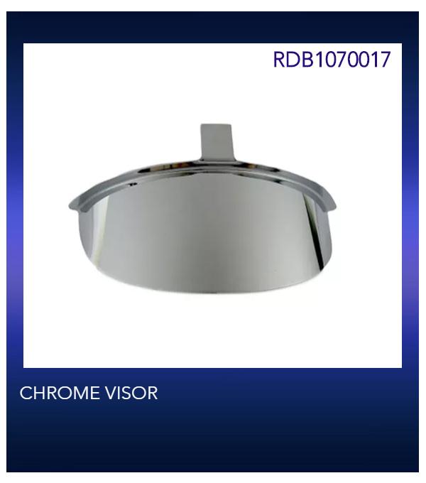 CHROME VISOR