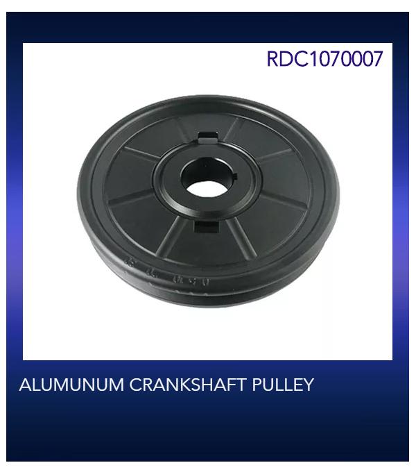ALUMUNUM CRANKSHAFT PULLEY