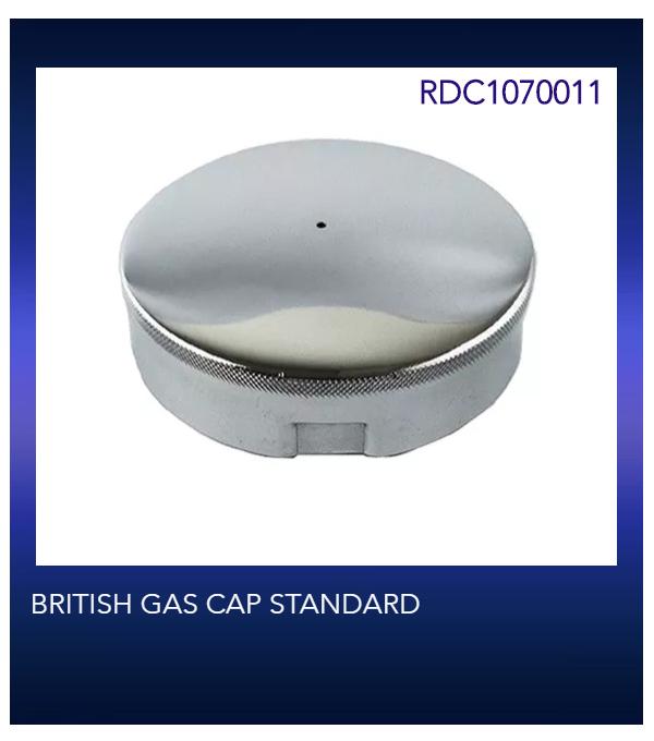 BRITISH GAS CAP STANDARD