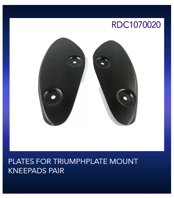 PLATES FOR TRIUMPHPLATE MOUNT KNEEPADS PAIR