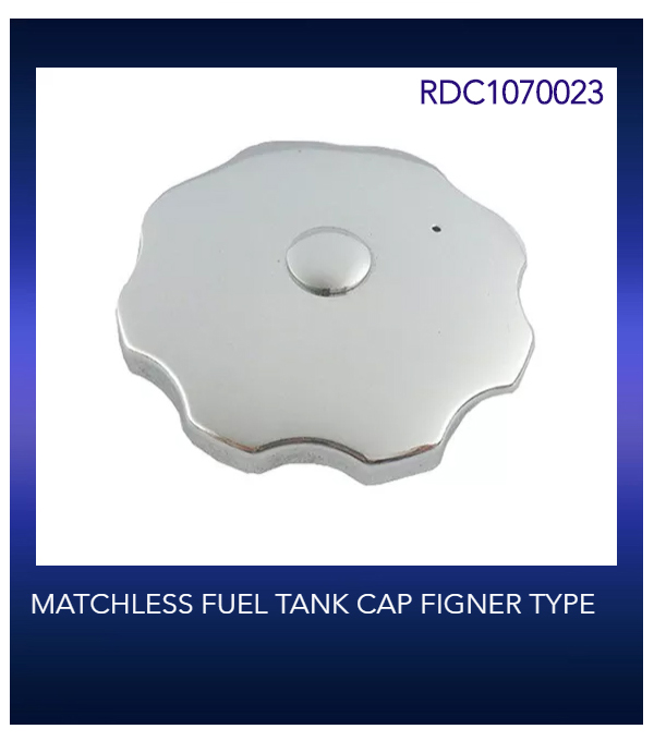 MATCHLESS FUEL TANK CAP FIGNER TYPE
